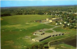 Aerial View of Williamson Central School - Wayne County NY, New York