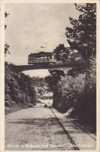 Trolley On The Bridge, Gezicht Op Bergspoor, Beek-Berg En Dal, Mooi-Nederland...