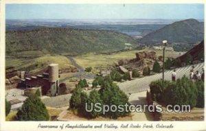 Amphitheatre & Valley - Red Rocks Park, Colorado CO