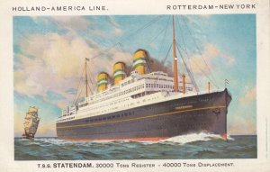 Holland-America Line Ocean Liner S.S.Statendam , 1930s #2