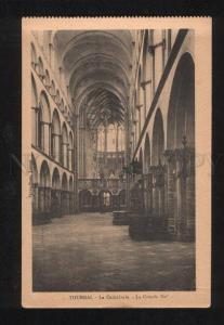 060222 BELGIUM Tournai La Cathedrale vue de la Place