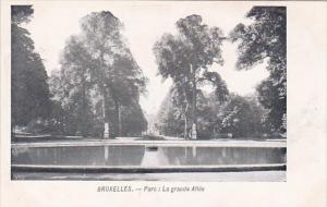 Belgium Brussells Bruxelles Parc La Grande Allee