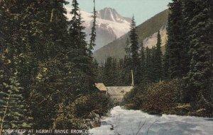 Peep at Hermit Range from GLACIER, British Columbia, Canada, 00-10s