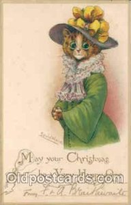 Artist Signed Louis Wain (Great Britain) postal used unknown very light wear ...