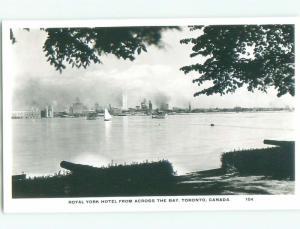 Pre-1949 rppc NICE VIEW Toronto Ontario ON W1071