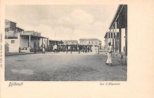 Djibouti Rue d'Abyssinie, Native People, Road