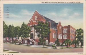 PENSACOLA, Florida, PU-1943; First Baptist Church
