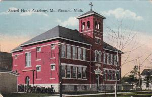 MT. PLEASANT, Michigan, PU-1916; Sacred Heart Academy