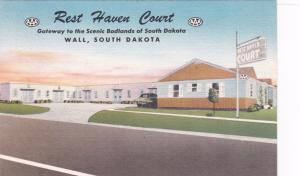 WALL , South Dakota , 30-40s ; Rest Haven Court