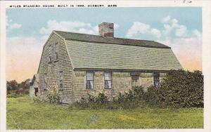 Massachusetts Duxbury Myles Standish Houce Built In 1666