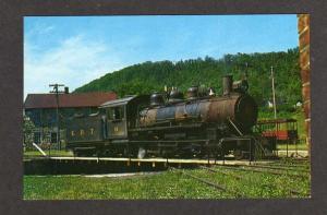 PA East Broad Top Railroad Train nr Rockhill Furnace Pennsylvania Postcard