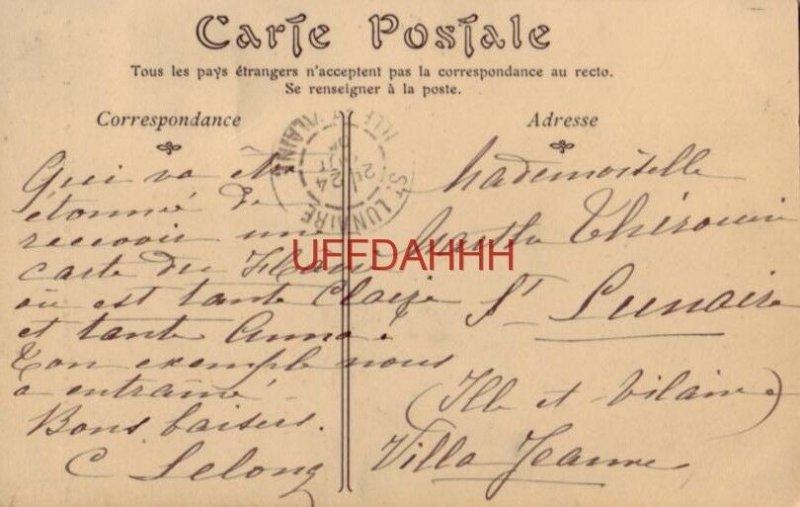 1905 LE STEAMER - LA TOURAINE DE LA COMPAGNIE GENERALE TRANSATLANTIQUE