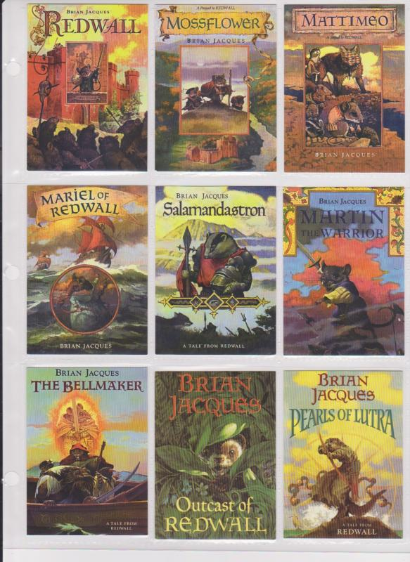 REDWALL COLLECTORS CARDS - 1 - 626