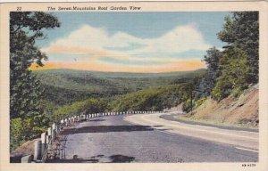 The Seven Mountains Roof Garden View  Harrisburg Pennsylvania