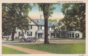 Massachusetts Amherst The Lord Jeffery Inn Curteich