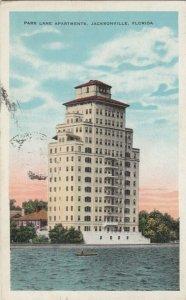 JACKSONVILLE , Florida , 1929 ; Park Lane Apartments