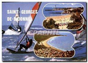 Modern Postcard St. George Didonne Ch Ms.
