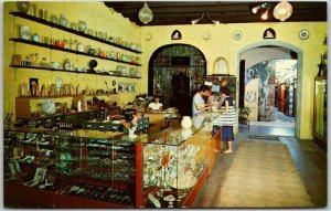 St. THOMAS, Virgin Islands Advertising Postcard G. BERETTA Italian Import Store