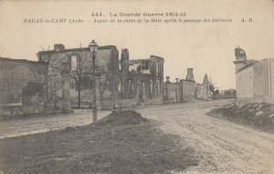 Mailly-le-Camp (Aube) , France, 1914-15