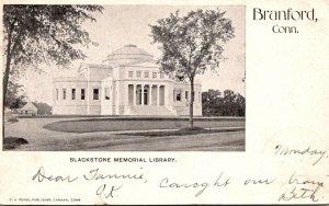 Connecticut Branford Blackstone Memorial Library 1904