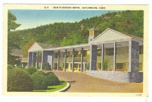 New Riverside Hotel, Gatlinburg, Tennessee, PU-1955