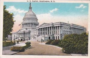 Washington D C The United States Capitol