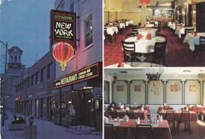 3-views,  The New York Restaurant,  Downtown Brockville,  Ontario,  Canada,  ...
