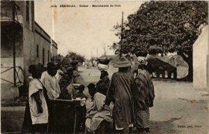 CPA AK Fortier 412, Dakar- Marchands de Cola, SENEGAL (762109)