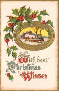 Christmas Postcard Old Vintage Post Card 1911
