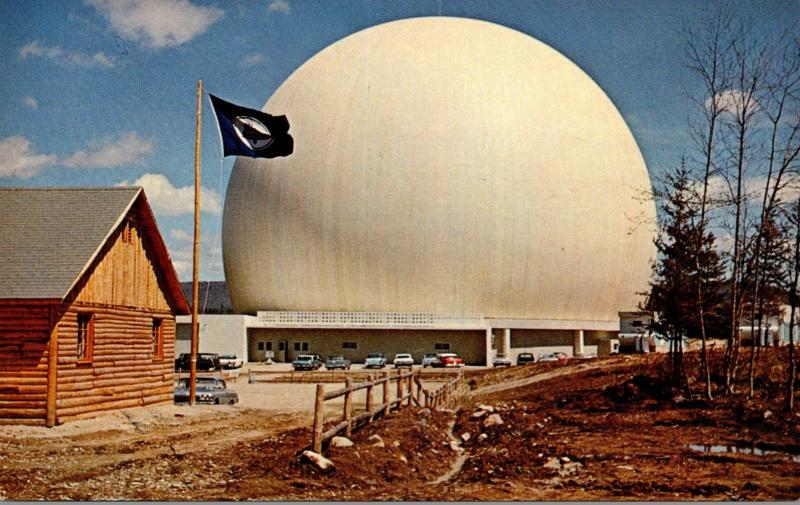 Maine Andover Bell Sytem's Earth Station 1963