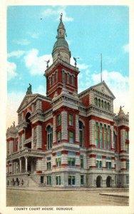 Iowa Dubuque County Court House Curteich