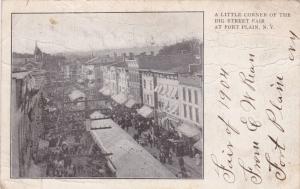 A Little Corner of the Big Street Fair at FORT PLAIN, New York, PU-1905