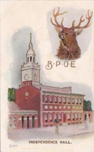 Elks Convention Independence Hall Philadelphia Pennsylvania