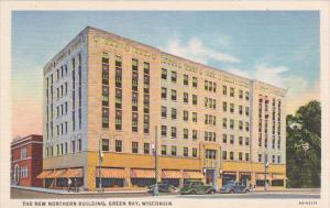 GREEN BAY, Wisconsin, 1930-1940´s; The New Northern Building, Classic Cars