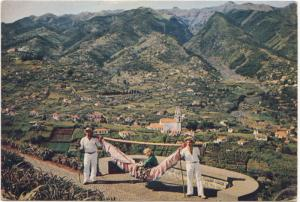 MADEIRA, Hammock riding at Pico dos Barcelos, Portugal, used Postcard