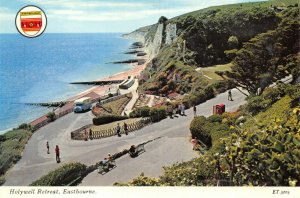 Vintage East Sussex Postcard, Holywell Retreat, Eastbourne FN8
