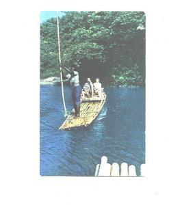 Black Man, Rafting Rio Grande, Jamaica, BWI, Pray for Peace Slogan Cancel