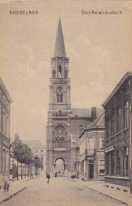 Sint- Amanduskerk, Roeselare, West Flanders, Belgium, 1900-1910s