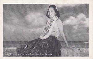 Hawaii Honolulu Hawaiiam Hula Girl Hawaiiam Islands