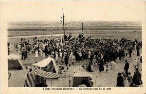 CPA FORT-MAHON - La Benediction de la mer (514940)
