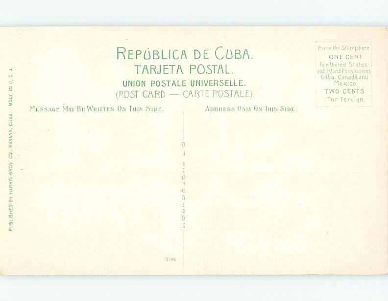 Unused Old Postcard EL MORRO Habana - Havana Cuba F5417@