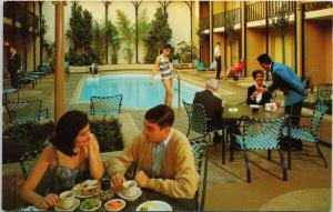The Handlery Motor Inn San Francisco CA Calif Pool UNUSED Vintage Postcard D83