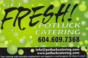 Advertising Potluck Catering Vancouver British Columbia Canada