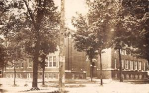 Northville Michigan High School Real Photo Antique Postcard K105108