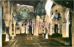 Modern Postcard Tlemcen Interior of the Great Mosque