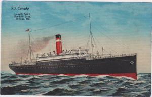 Ocean Liner S.S. CANADA , 00--10s