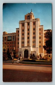 Rochester MN, St Mary's Hospital, Chrome Minnesota c1956 Postcard