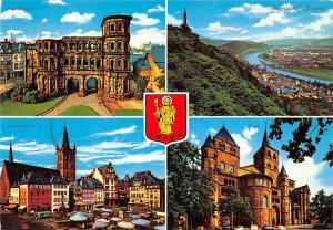 Trier Mosel, Porta Nigra Dom Mariensaule Hauptmarkt Market Place Cathedral