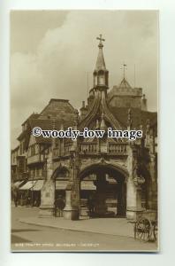 tp8927 - Wilts - Poultry Cross & Hill& Son's Cart, Salisbury- Postcard - Judges'