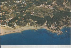 Postal 016045: Vista aerea de Lloret de Mar, costa brava